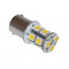 Лампа светодиод. 1-но контакт. 12 светодиодов желтая