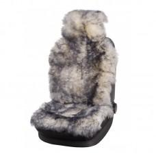 Накидка на сидение (овчина) Jolly Extra бело-черная