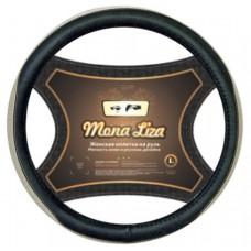 Оплетка на руль Mona Liza Sole  M бежевая