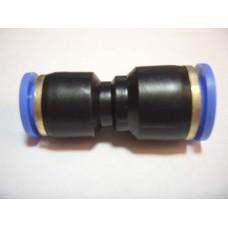 Фитинг соединитель пластиковый переходной  10-12 мм (PG10-12)