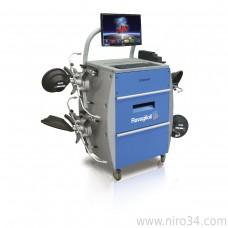 Стенд регулировки сход-развала 3D с фиксированным позиционированием 4-х цифровых камер