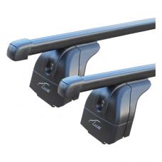 Багажная система с прямоуг. пластик. дугами 120см (на рейлинги) LUX