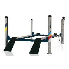Подъемник четырехстоечный г/п 4000 кг. платформы для сход-развала