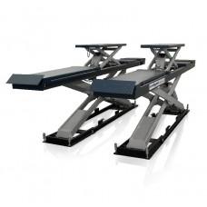 Подъемник ножничный г/п 4000 кг., платформы для сход-развала с подъем. второго уровня