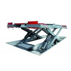 Подъемник ножничный г/п 5000 кг. заглубляемый платформы гладкие