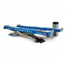 Подъемник ножничный г/п 3500 кг. заглубляемый, платформы для сход-развала