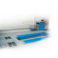 Подъемник ножничный г/п 3500 кг. заглубляемый, платформы гладкие с люфт-детектором