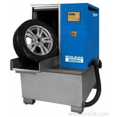 Мойка для колес легковых и полугрузовых автомобилей с подогревом