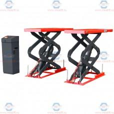 Подъёмник ножничный короткий заглубляемый г/п 3600 кг.