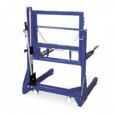 Тележка гидравлическая г/п 700 кг. для снятия колес грузовых автомобилей