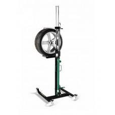 Тележка гидравлическая г/п 60 кг. для снятия колес легковых автомобилей