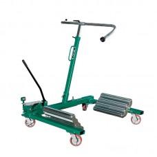 Тележка гидравлическая г/п 1500 кг. для снятия колес грузовых автомобилей